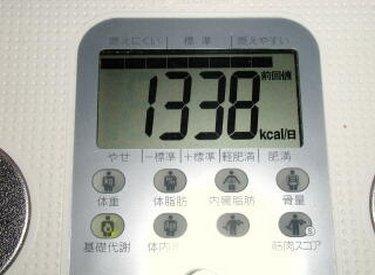 ダイエット 1日に必要なカロリー量の計算
