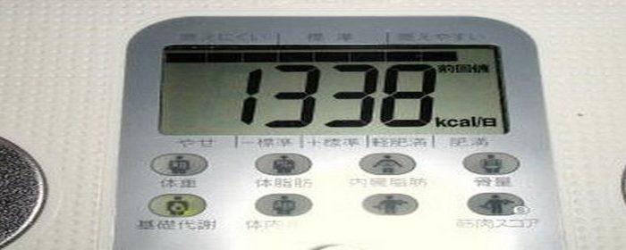1日に必要なカロリー計算 身長から標準体重・基礎代謝量と身体活動レベル